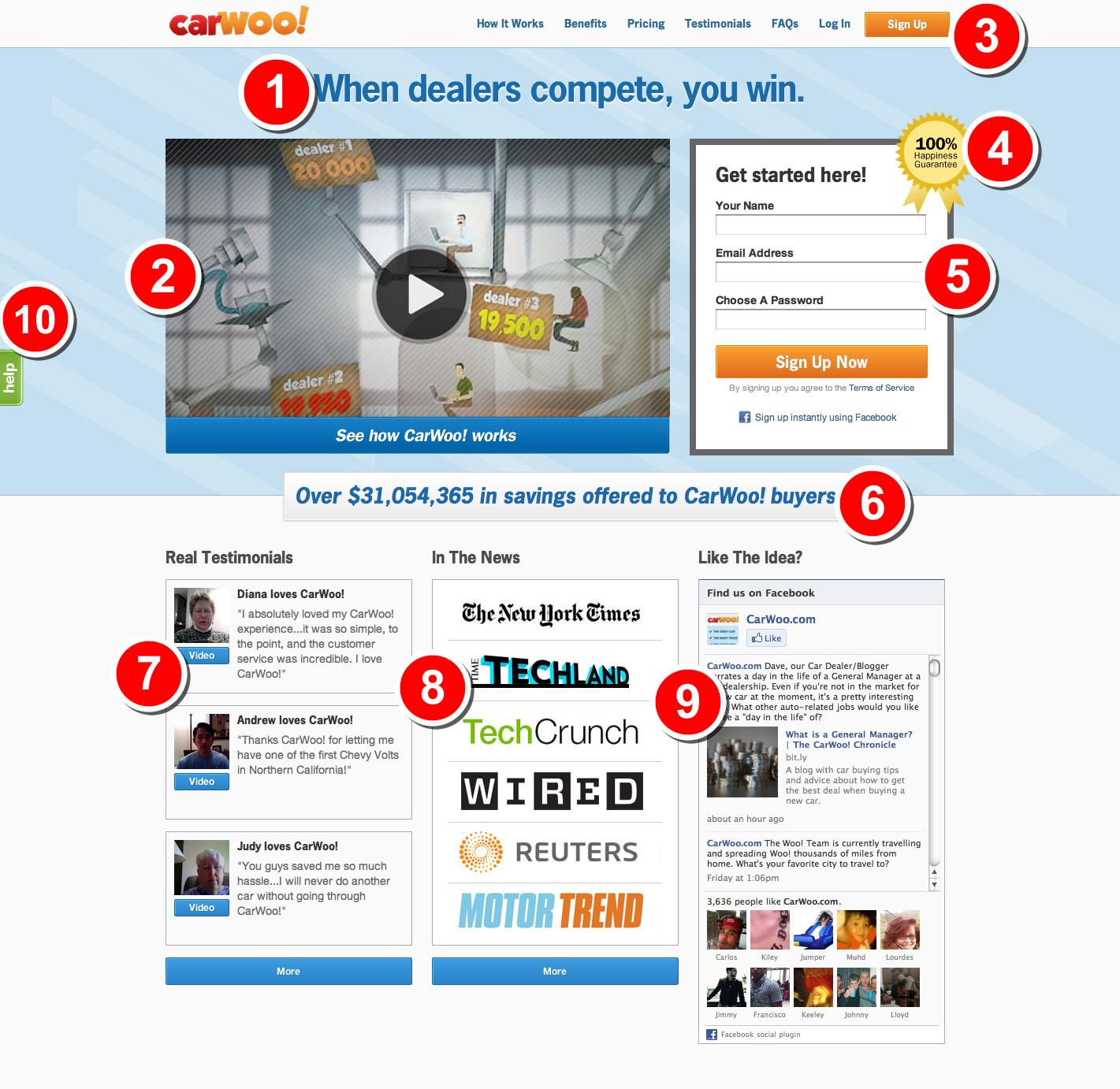 online Théorèmes ergodiques pour les actions de